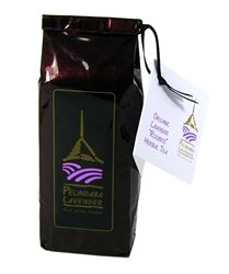 """Our Organic Lavender """"Rooibos"""" (= redbush) Herbal Tea blend - naturally sweet, low in tannins and high in anti-oxidants - connects our present lavender world to our South African roots. We blend this naturally non-caffeinated, organic rooibos tea with our organically-grown culinary lavender to produce a wonderfully healthy and delightfully aromatic beverage unique to Pelindaba."""