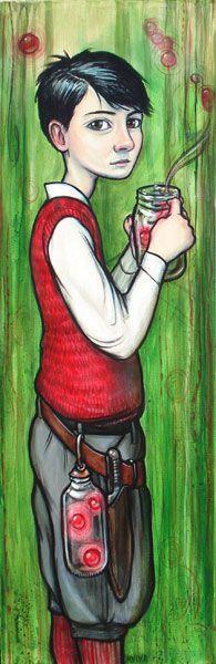 Collector Boy, by Kelly Vivanco  www.kellyvivianco.com