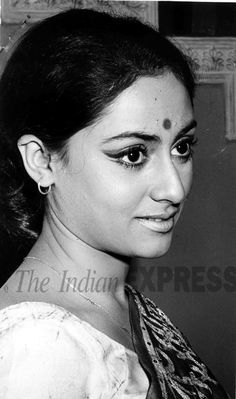 Jaya Bhaduri Bachchan (born Jaya Bhaduri on 9 April 1948) is an Indian politician and former film actress. She is an alumna of the Film and Television Institute of India, Pune. She is the wife of Amitabh Bachchan, and is the mother of Shweta Bachchan-Nanda and Abhishek Bachchan. Bachchan is recognised as one of the finest Hindi film actresses of her time, particularly known for reinforcing a naturalistic style of acting in both mainstream and