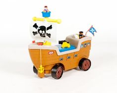 Amazon.com: Little Tikes 2-in-1 Pirate Ship: Toys & Games