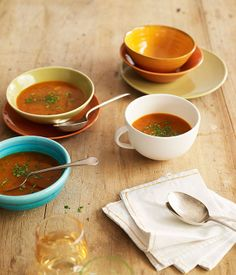 Spicy crab soup - Gourmet Traveller
