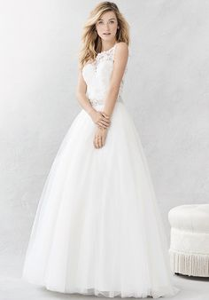 Kenneth Winston: Ella Rosa Collection BE387 Ball Gown Wedding Dress