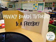 Love Learning with Liana: DIY Privacy Boards Tutorial + a FREEBIE