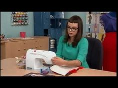504-2 Gretchen Hirsch shows how to add underlining to a skirt on It's Se...   forro