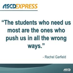 Building relationships with ALL students can help ensure their success.
