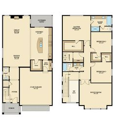 The Redwood home by Lennar Seattle. 2,573 sq ft with 3 bedrooms and 2.5 bathrooms.