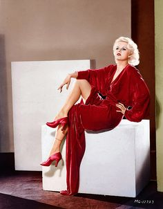 Jean Harlow - She was the very first film actress to grace the cover of Life magazine in May 1937