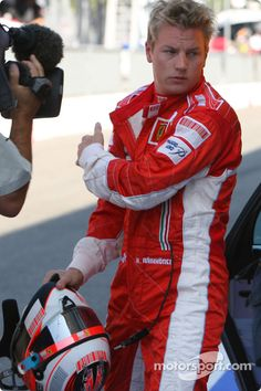Kimi @ Monza 2007