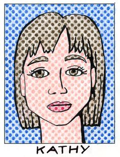 Roy Lichtenstein was a prominent American pop artist who favored old fashioned comic strips as a subject matter. By using a pre-printed paper full of empty dots, you can make your own portrait – complete with graphic marker shading. 1. You can download my pdf template of empty dots. Start by lightly sketching your face with … Read More