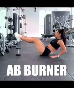 Easy Ab Burner workout for women. Home ab burner workouts. Fitness Workouts, Gym Workout Tips, Abs Workout For Women, Sport Fitness, Workout Challenge, Workout Videos, Yoga Fitness, At Home Workouts, Target Fitness
