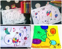 Come insegnare ai bambini a colorare bene secondo il Metodo Montessori: come e perché colorare nei bordi, come riempire lo spazio del foglio senza stancarsi. Art For Kids, Crafts For Kids, Picasso, Art Projects, Dita, Children, Baby, Lab, Figurative