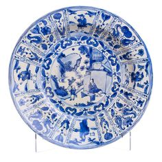Plate, porcelain, China, 17th century, Transitional period (1635-1655),