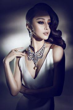Cartier Ads with actress Fan BingBing