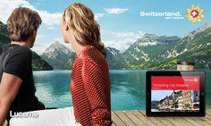 MySwitzerland iPad App Ipad App, Creative Advertising, City Break, Nature, Naturaleza, Ads Creative, Off Grid, Natural, Mother Nature