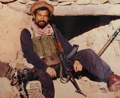 "fnhfal: ""A Japanese mujahideen fighter during the Soviet War in Afghanistan. """