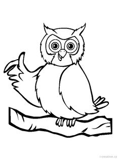 Free Bird Coloring Pages. Color in this picture of a Perched Owl and others with our library of online coloring pages. Butterfly Coloring Page, Online Coloring Pages, Coloring Pages To Print, Printable Coloring Pages, Colouring Pages, Coloring Books, Owl Pictures, Colorful Pictures, Bird Silhouette
