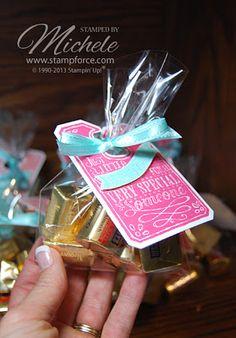 Easy treats made with Chalk Talk framelits