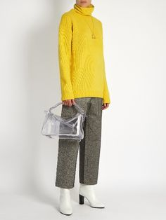 Milford cropped wide-leg trousers