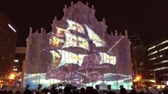 Projection mapping is the main point to visit.