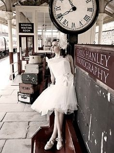 #1 Chris Hanley Photography East Lancs Vintage Cherish teh Dress shoot 1