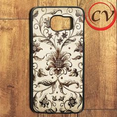 Classic Floral Painting Samsung Galaxy S6 Edge Plus Case