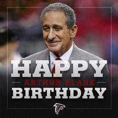 Happy birthday to owner Arthur Blank! Atlanta Falcons Memes, Falcons Football, Georgia, Happy Birthday, Instagram Posts, Boss, Twitter, Quotes