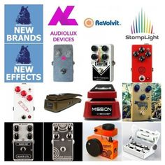 Last week I added 3 brands and 11 pedals including 2 Crayons and 2 lighting pedals :D  #effectsdatabase #newreleasesThe brands on IG: @audioluxdevices @andrew.revolvit @stomplightrocks @ehxnyc @missionengineering @jhspedals @mojohandfx @mrblackpedals