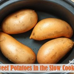 Sweet Potatoes in the Slow Cooker
