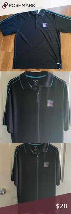 Medium Genuine New Holland BA Mens Royal Blue Short-Sleeved Polo Shirt
