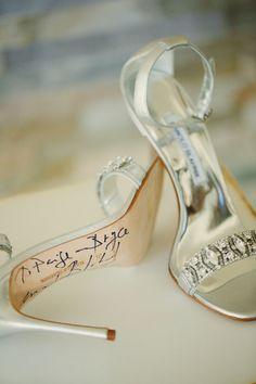 wedding shoes; photo: Binaryflips Photography