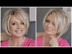 """Raquel Welch """"Straight Up With a Twist"""" Wig in Shaded Biscuit RL19/23SS - YouTube"""