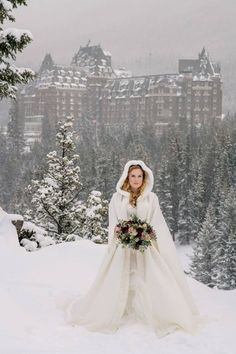 Fairmont Banff Springs Winter Wedding Book your winter wedding with us in 2019 or 2020 and enjoy a complimentary stay in a Gatehouse or Junior Suite on the ni. Outdoor Winter Wedding, Snow Wedding, Winter Wonderland Wedding, Elope Wedding, Dream Wedding, Wedding Games, Winter Mountain Wedding, Mountain Weddings, Elopement Wedding