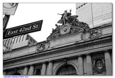Entrance to the Grand Station on 42nd Street in New York