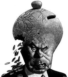 Politicians by Ricardo Martinez, via Behance