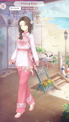 Dress Up Diary, Gaara, Princess Zelda, Animation, China, Anime, Character, Outfits, Dresses