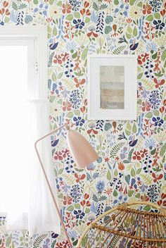 Boråstapeter Scandinavian Designers collection of floral wallpaper
