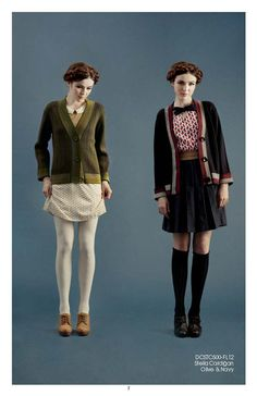 """from """"Fall/Winter '12 collection from Dear Creatures"""" on Delightfully Tacky"""