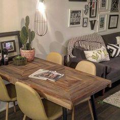 ZAK Recycled teak dining table | Structube