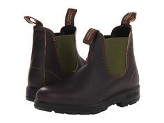 Blundstone BL519 Stout Brown/Olive - Zappos.com Free Shipping BOTH Ways
