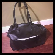 """Lulu lemon weekender bag Used bag but in good condition: interior is stained. I will send photos if you are interested. Exterior in great condition. About 15"""" long, 12"""" tall and 8"""" depth (front to back). Several interior pockets lululemon athletica Bags Travel Bags"""