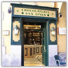 Curros & Chocolate - say no more the one in Madrid on Calle San Gines.... Is the one!
