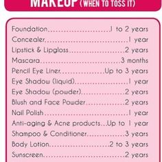 MYTH 👉 makeup doesn't expire and can used till it runs out.   FACT 👉 be wary of expiration dates on the packaging. Most cosmetic companies put little labels on their products, this shelf life starts as soon as you open the product. Be smart and stay safe ladies, particularly when using old mascara as it is starts collecting bacteria from the first use. This can cause eye infections 👾😷  #themoreyouknow