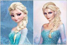 Os príncipes e as princesas da Disney na vida real (21 fotos)