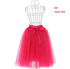Midi Long Tulle Skirt American Apparel Tutu Skirts Womens Petticoat Elastic Belt 2017 Autumn faldas saia jupe
