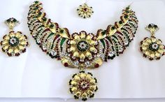 Indian Jewellery Wholesale and Supplier. We keep a vast range in Indian Costume Jewellery. You get from our Online Store of Indian Jewellery a vast collection of exclusive style necklaces. Kindly Visit our online gallery and we await to your feedback.