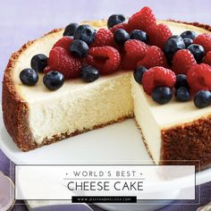 This American style cheese cake will blow your mind. I don't bother ordering cheese cake anywhere else because it will pale in comparison.