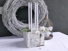Adventskranz - Adventskranz  - ein Designerstück von tulip-dekoCONZEPT bei DaWanda