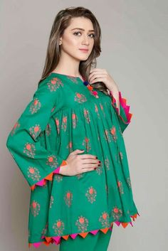 Rang Ja Pret 2017 Collection Eid Festival, Rang Ja summer collection has launched recently in april summer Comes in Pakistan for a long Latest sleeves design for kurti to try in trends in Beauty, Fashion, Indian outfit ideas, Weddi Stylish Dresses For Girls, Stylish Dress Designs, Dresses Kids Girl, Simple Dresses, Stylish Dress Book, Girls Dresses Sewing, Sleeves Designs For Dresses, Kurti Sleeves Design, Dress Neck Designs