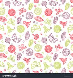 b980e60989b Christmas decorations seamless wallpaper for wrapping paper. Endless New  Year pattern.