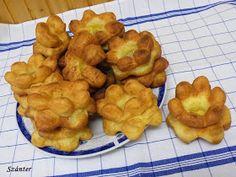 Szánter blogja.: Így sütök rózsafánkot.